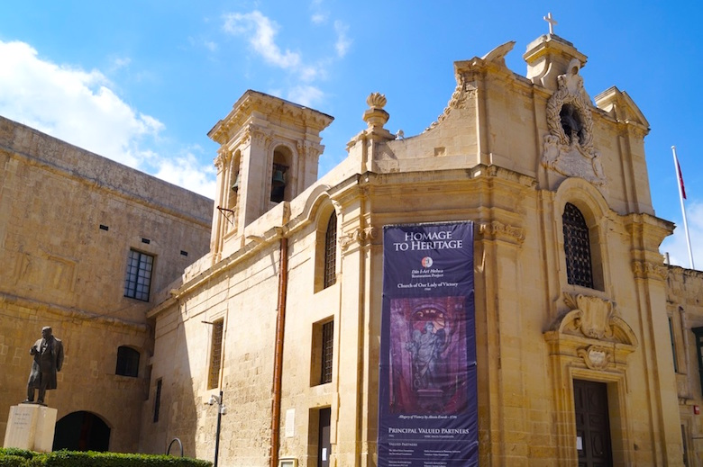 Our Lady of Victory Church Valletta Malta