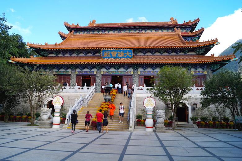 Po Lin Kloster Hong Kong