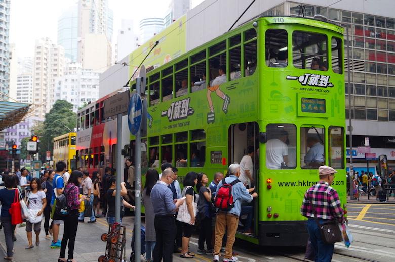 Wan Chai Tram Hong Kong