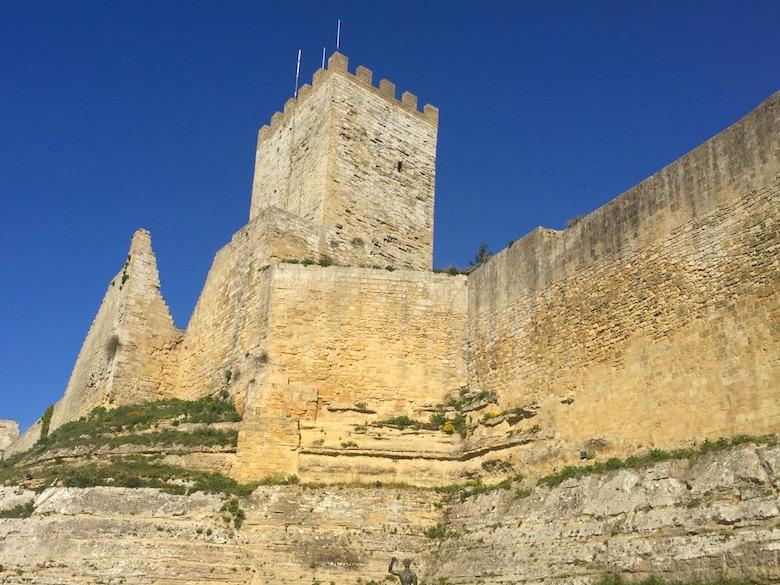 Castello di Lombardia Enna Sizilien Italien