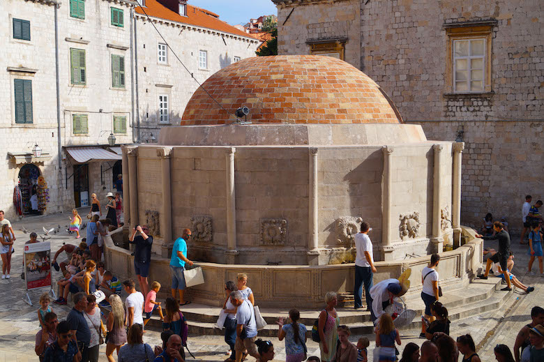 Onofrio Brunnen Dubrovnik Kroatien