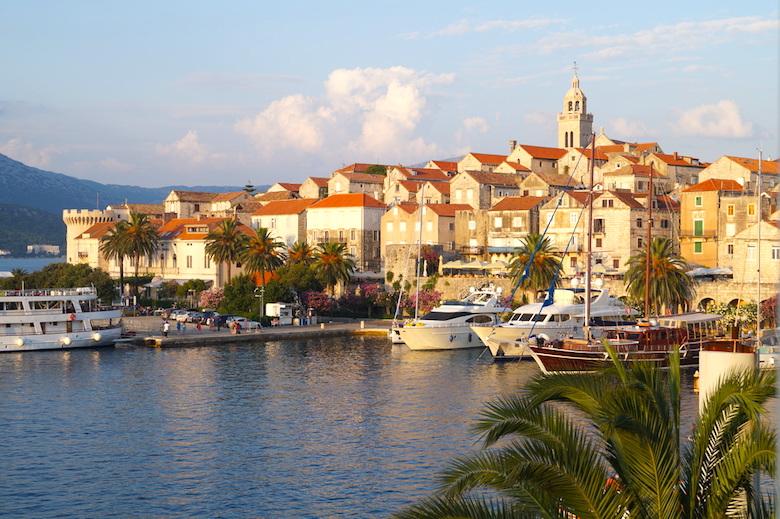 Korcula Altstadt Kroatien