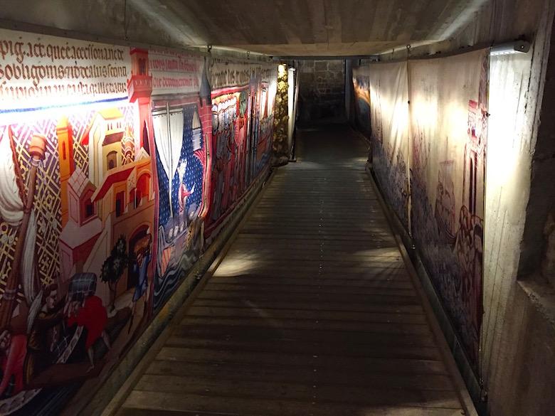Templer-Tunnel Akko Israel