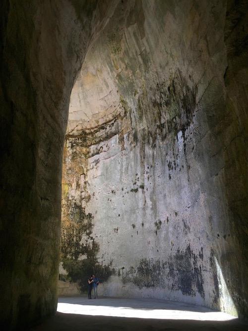 Ohr des Dionysos Syrakus Sizilien