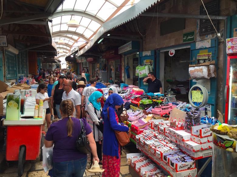 Stadtmarkt Akko Israel