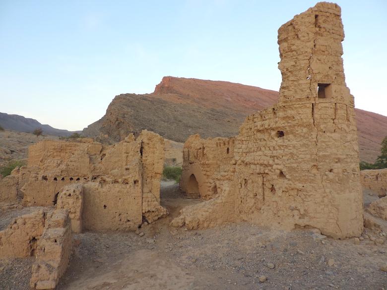 Tanuf Ruinen Oman