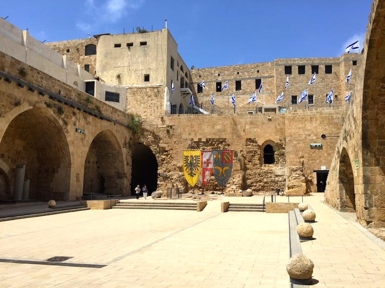 Die Zitadelle der Hospitaliter Akko Israel