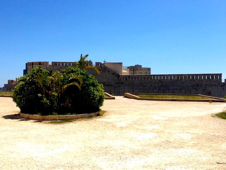 Castello Maniace Syrakus Sizilien