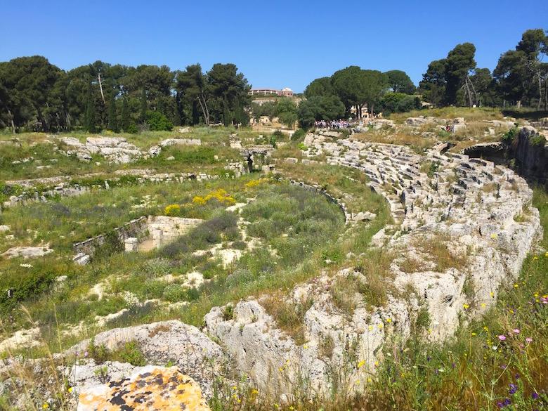 Römisches Amphitheater Syrakus Sizilien