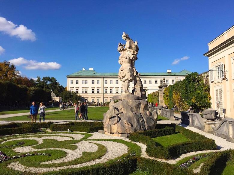Schloss Mirabell Salzburg Österreich