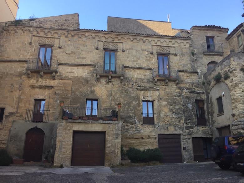 Palazzo Pollicarini Enna Italien Sizilien