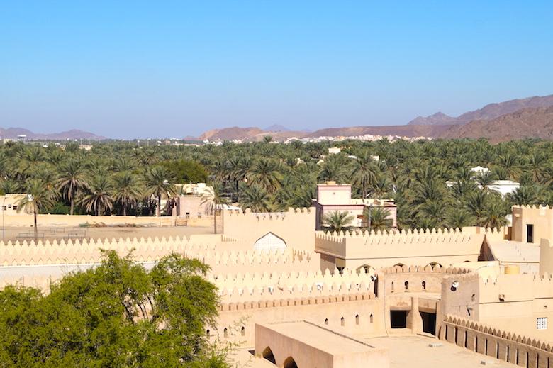 Rustaq Fort Oman