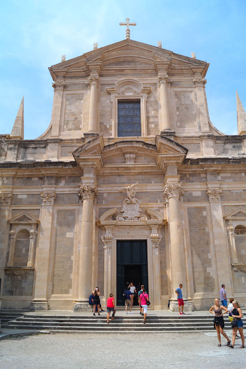 St. Ignatius Kirche Dubrovnik Kroatien