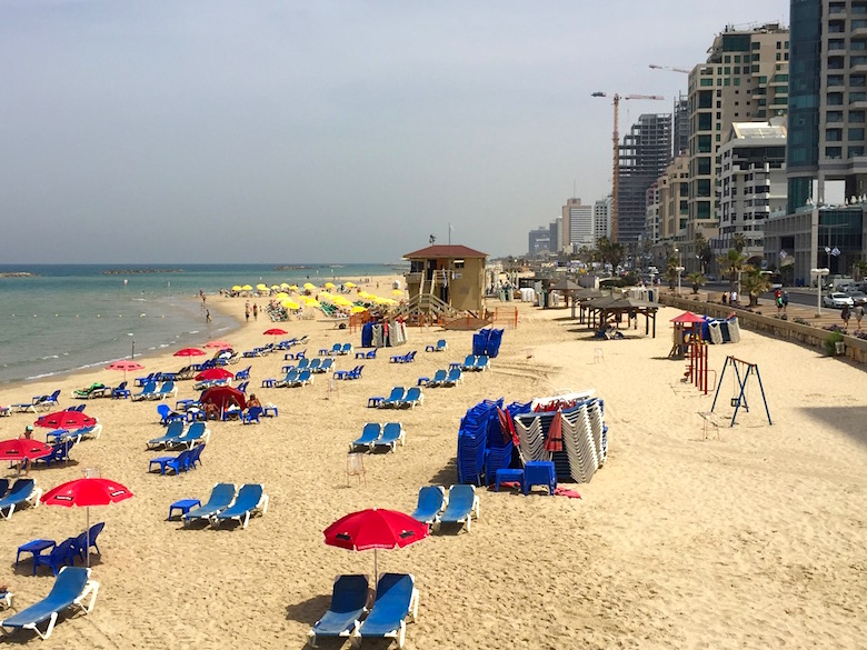 Strand Tel Aviv Israel