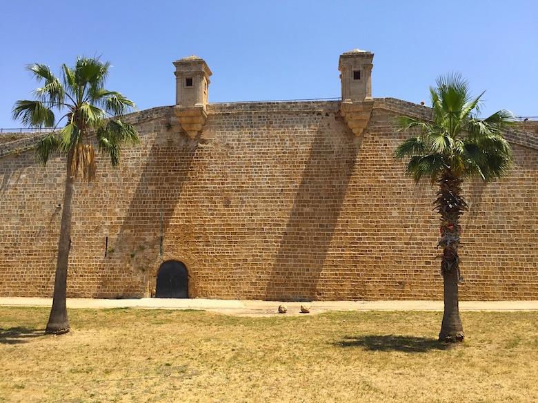Stadtmauer Akko Israel
