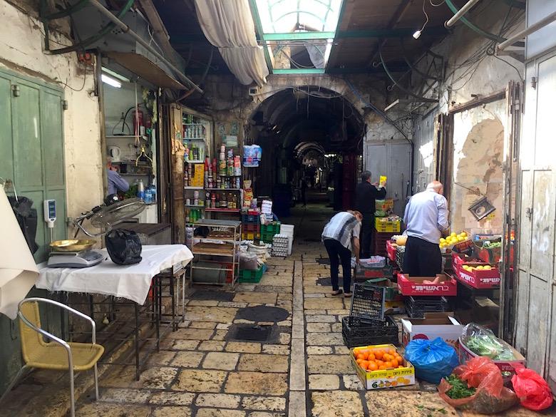 Bazar Jerusalem Israel