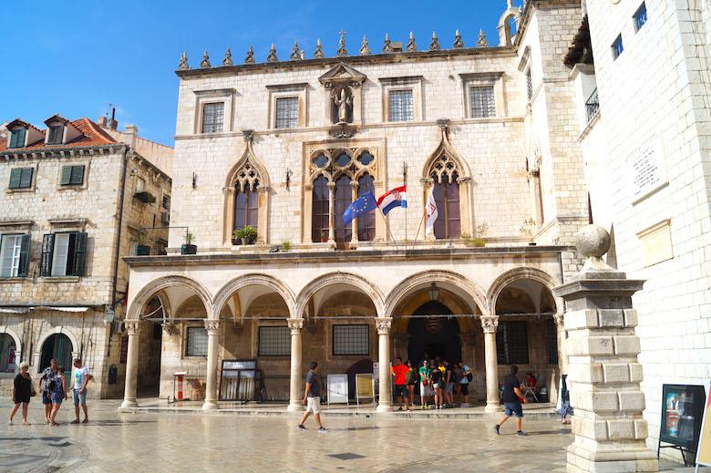 Luza Platz Dubrovnik Kroatien