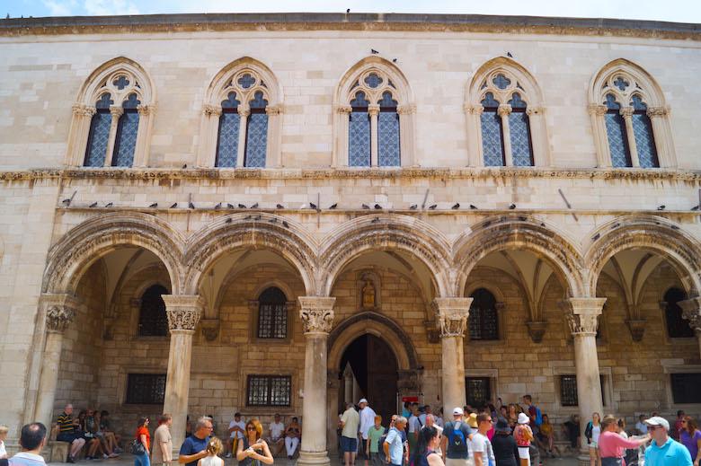 Rektorenpalast Dubrovnik Kroatien
