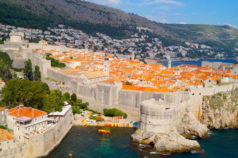 Festung Lovrjenac Dubrovnik Kroatien