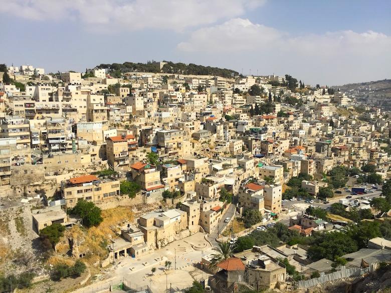Davidsstadt Jerusalem Israel