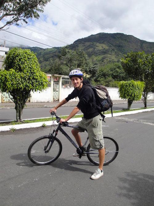 Fahrradtour Banos Puyo