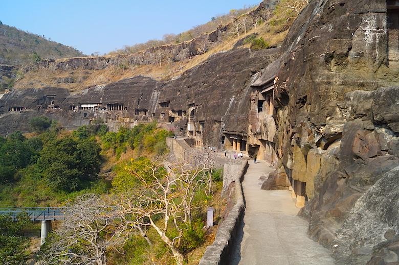 Ajanta Höhlen Indien