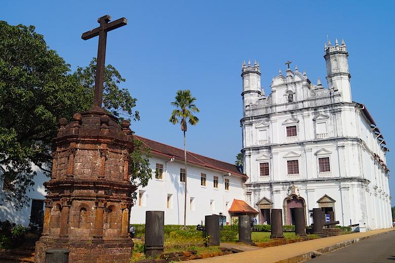 Kirche des Heiligen Franz von Assisi in Alt-Goa Indien