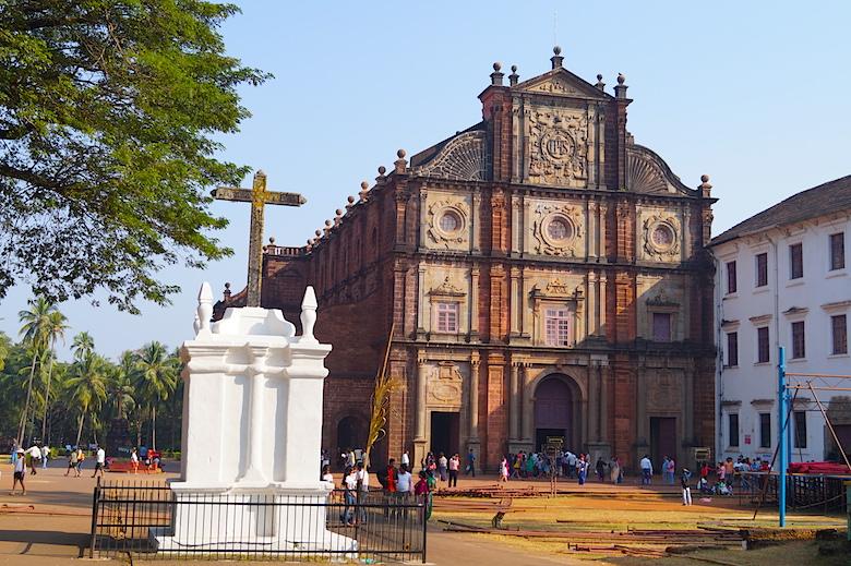 Basilika Bom Jesus in Goa Indien