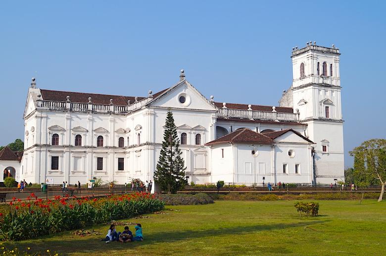 Se-Kathedrale in Alt-Goa Indien