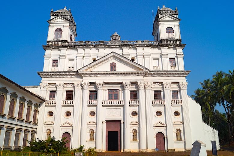 Kirche von St. Cajetan Alt-Goa Indien