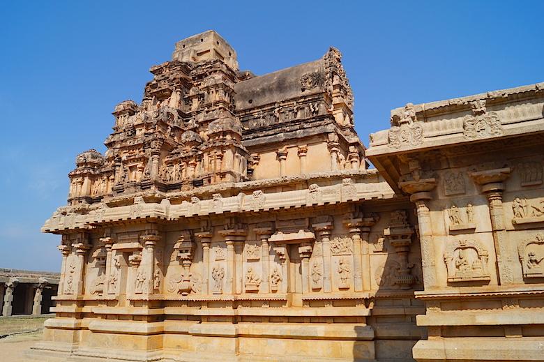 Hazararama Tempel Hampi Indien