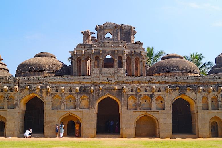 Zenana Enclosure Hampi Indien