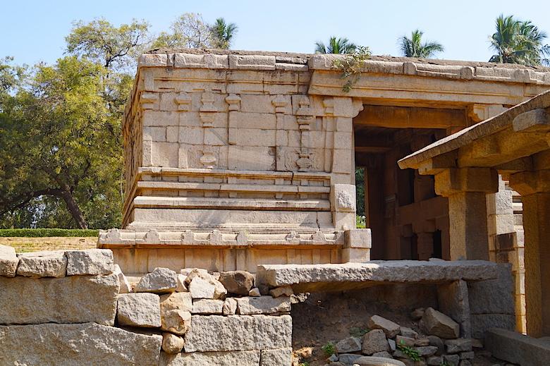 Unterirdischer Shiva Temple Hampi Indien