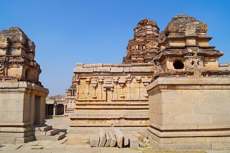 Sri Krishna Tempel Hampi Indien
