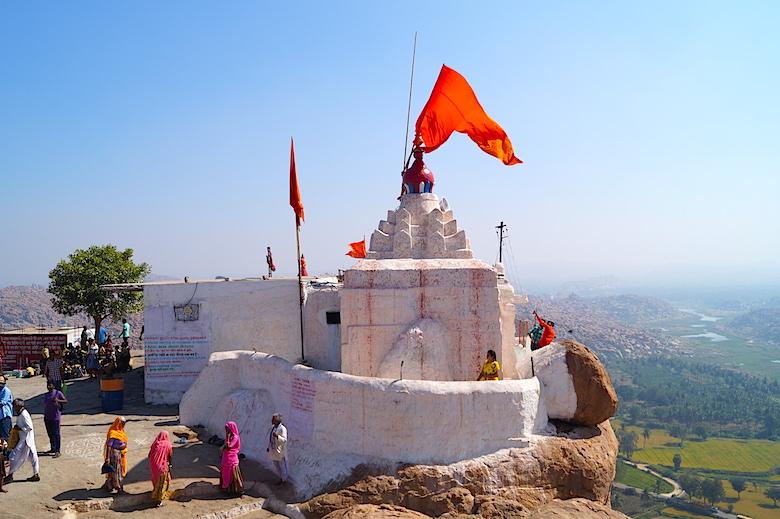 Anjaneya Hill Hampi Indien