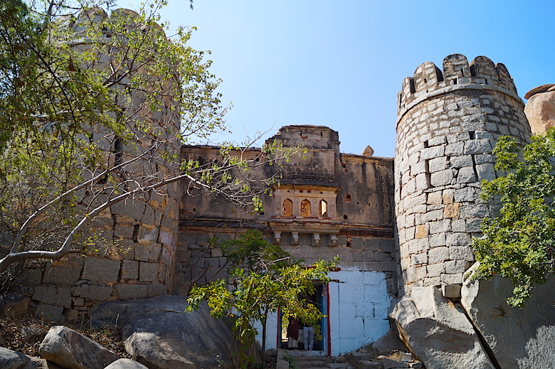 Durga Tempel Hampi Indien