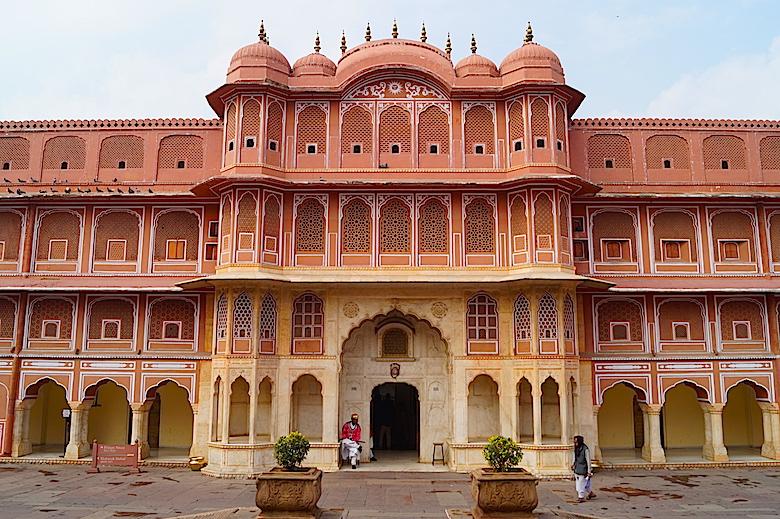 Stadtpalast Jaipur Indien