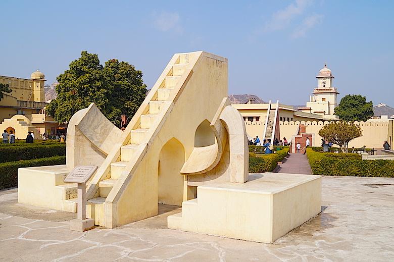 Jantar Mantar Jaipur Indien
