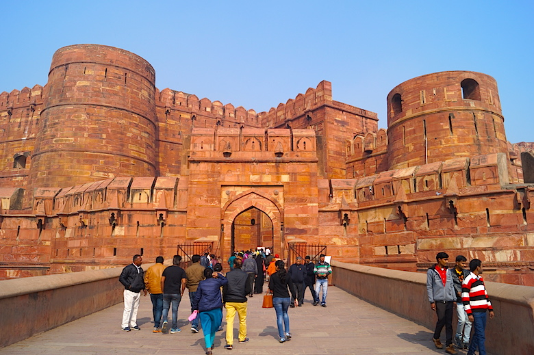 Rotes Fort Agra Indien