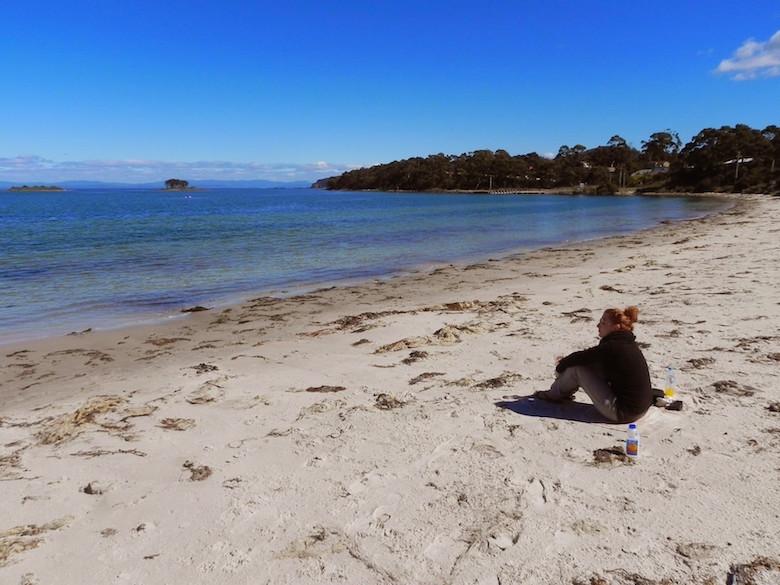 White Beach Tasmanien Meine Highlights