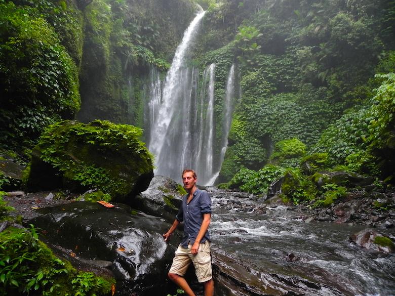 Lombok Tiu Kelep Wasserfall