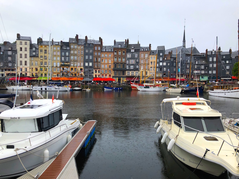 Hafen von Honfleur Normandie