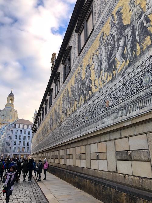 Fürstenzug Dresden Ein Tag