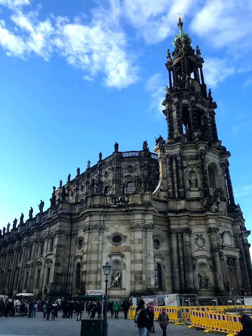 Katholische Hofkirche Ein tag Dresden
