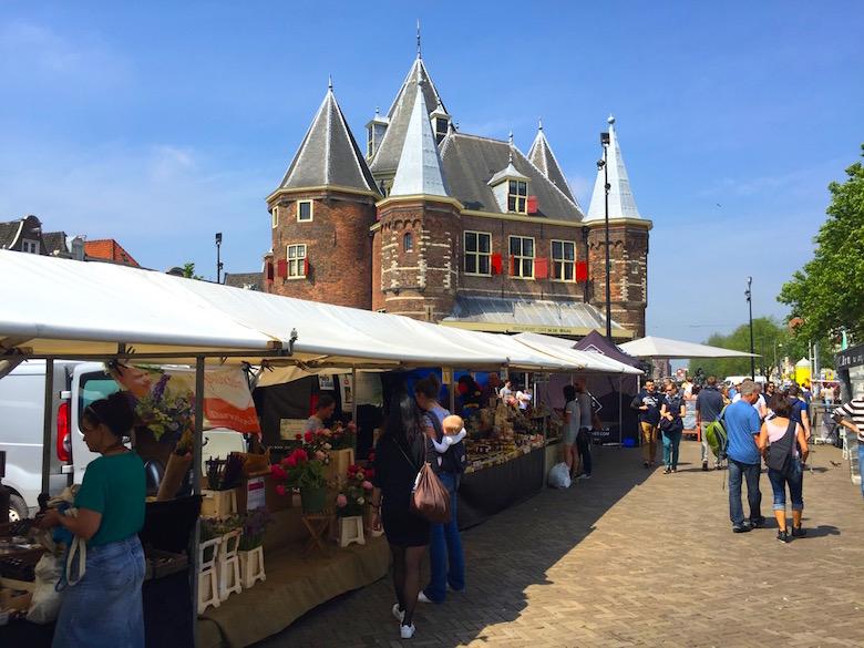 Nieuwmarkt Amsterdam Niederlande