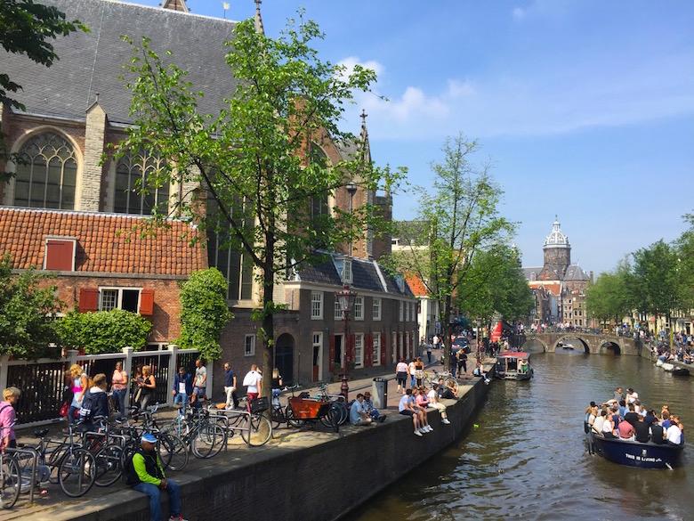 Oude Kerk Amsterdam Niederlande