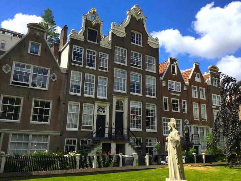 Begijnhof Amsterdam Niederlande