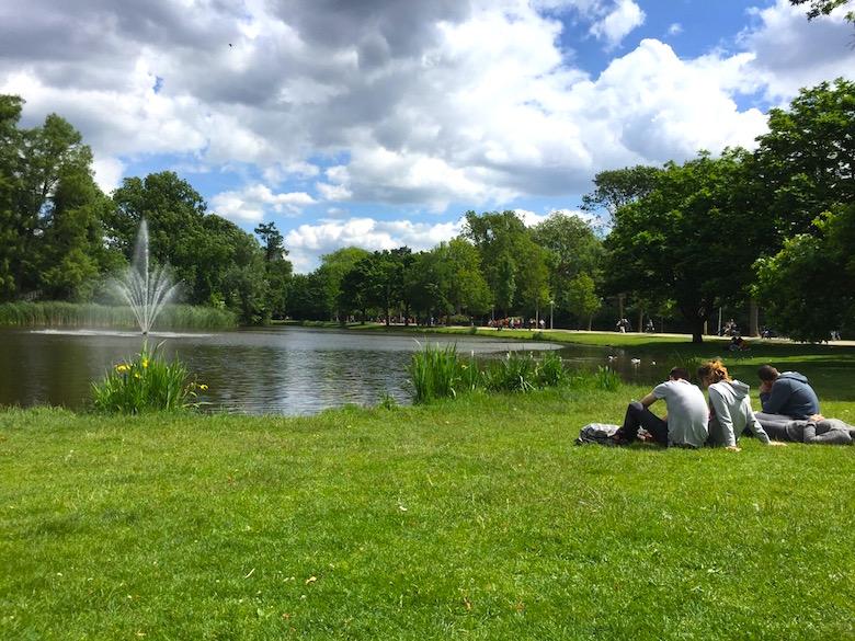 Vondelpark Amsterdam Niederlande
