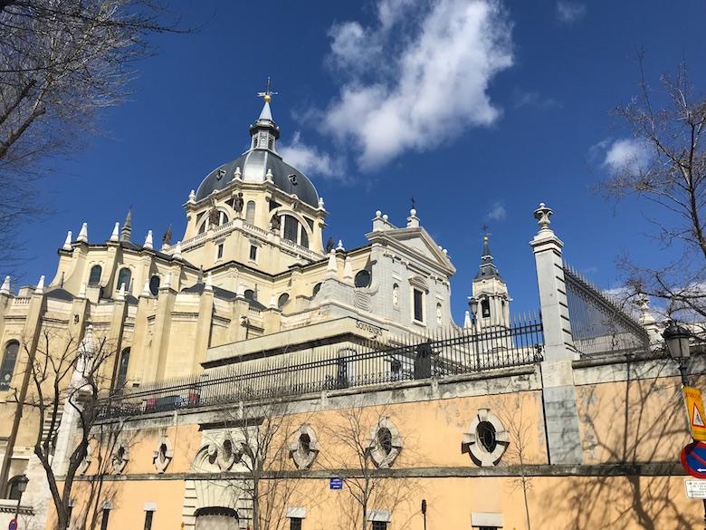Almudena Kathedrale Madrid
