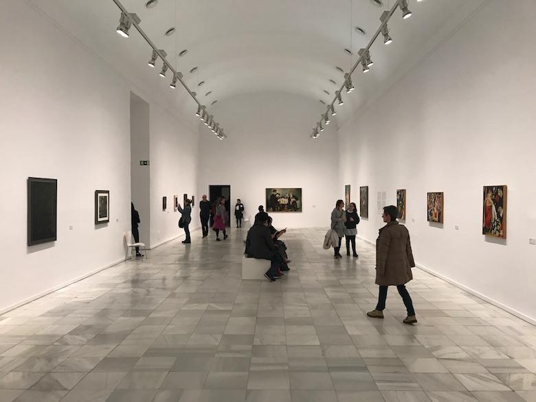 Centro de Arte Reina Sofia Madrid